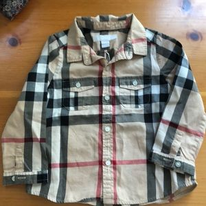 Burberry Baby boys button down